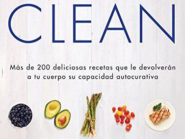 libro: comidas clean