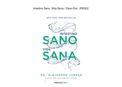 libro: intestino sano vida sana