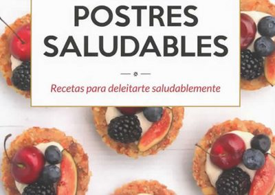 libro: postres saludables