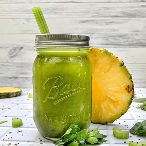 jugo verde detox