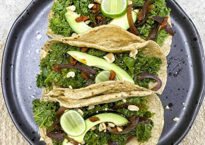 tacos de kale